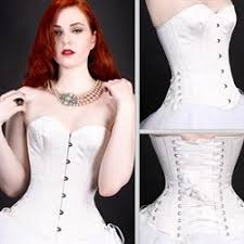 satin cup corset adjustable corsets overbust korset plus size 6xl solid red white black bustier side zipper lace trimmer gorset