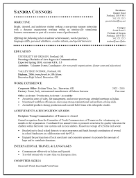 resume samples for college students objective cipanewsletter good examples of resumes for college students resume college