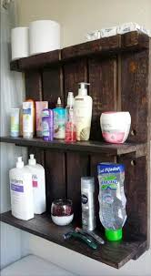 country themed reclaimed wood bathroom storage: pallet bathroom shelf  easy diy pallet ideas for your next projects  pallets