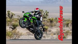 2019 Kawasaki Ninja <b>ZX</b>-<b>6R</b> First Test - Cycle News - YouTube
