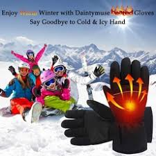<b>2019 new 1 Pair</b> Winter USB Hand Warmer Electric Thermal Gloves ...