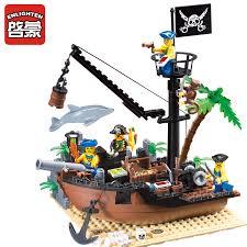 <b>Enlighten</b> 306 New <b>178PCS Pirate</b> Series <b>Pirate</b> Ship Scrap Dock ...