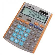 <b>Milan Калькулятор</b> настольный полноразмерный 12 разрядов ...
