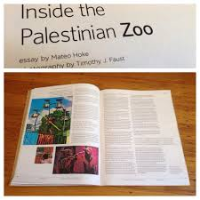 print m a t e o h o k e inside the palestinian zoo the bear deluxe magazine issue 32 2011