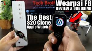 Wearpai F8 REVIEW: The Best $20 Apple <b>Watch</b> Clone! - YouTube