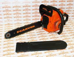 <b>Бензопила Carver RSG 238</b> (мощность - 1.2кВт/1,7л.с + шина 400 ...