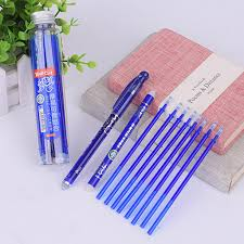 <b>12pcs</b>/<b>set</b> Friction <b>Erasable 0.5mm</b> Gel Ink <b>Pens</b> Set with Refill ...