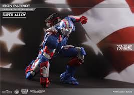 play imaginative super alloy iron man iron patriot 1 bootleg iron man 2 starring