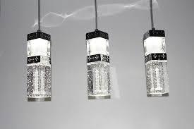 2014 elegant crystal column pendant lamp decorative lighting fixtures bubble lighting fixtures