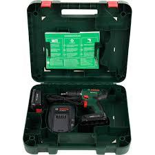 Дрель-шуруповерт аккумуляторная <b>Bosch</b> PSR 1440 LI-2, 14.4 В ...