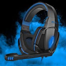 EACH G4000 <b>Gaming Headset</b> Stereo <b>Headphones</b> USB 3.5mm ...