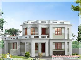 Flat Roof House Plans Designs Simple House Plans Flat Roof  modern