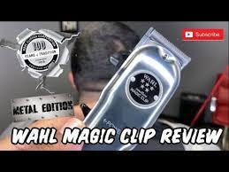 <b>Wahl Magic Clip</b> and <b>Cordless Magic Clip</b> - YouTube