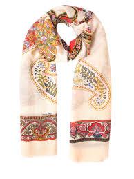 Кашемировый <b>шарф с принтом</b> от ETRO за 40 180 рублей со ...
