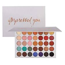 <b>Beauty Glazed 35 Colors</b> Eyeshadow Palette Eye Shadow Powder ...