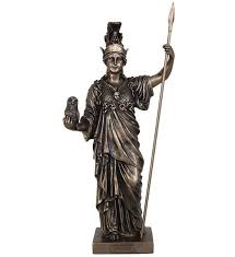<b>Статуэтка Афина-греческая богиня</b>, 15х12,5х36см, Veronese ...