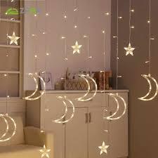 ZPAA 3M Christmas Lights 220V Romantic <b>Fairy Star LED</b> Curtain ...