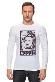 <b>Лонгслив</b> Мадонна (<b>Vogue</b>) #709486 от coolmag по цене 1 790 ...