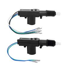 <b>2pcs Universal 12V</b> Door Power Central Lock Kit With 2 Wire ...
