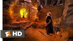 The Ten Commandments (10/10) Movie CLIP - The Burning Bush ...