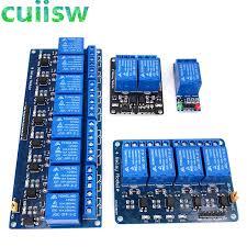 <b>1 2 4</b> 8 Channel DC 5V <b>12V</b> Relay Module with Optocoupler Low ...
