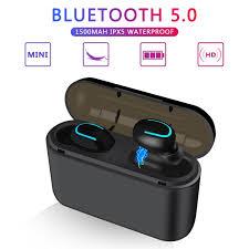 Bluetooth <b>Earphones</b> TWS <b>Wireless</b> Blutooth <b>5.0 Earphone</b> ...