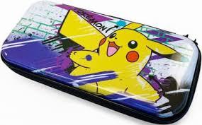 Купить Защитный <b>чехол HORI Premium</b> Vault Case Pikachu для ...