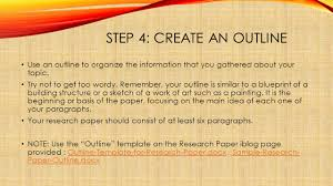 writing a research paper by snezana blazeski step choosing a 5 step