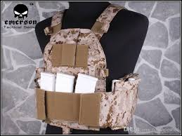 2019 EMERSON <b>6094S</b> Style Plate Carrier Tactical Vest Airsoft ...