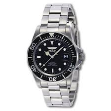 """""""Pro Diver Collection"""" <b>Stainless Steel Coin</b>-Edge Automatic Watch"""