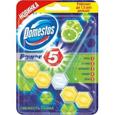 <b>Подвеска для унитаза Domestos</b> Power 5 Лимон/Лайм, 55 г в ...