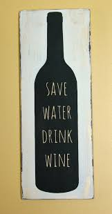 wood sign glass decor wooden kitchen wall: wine wood sign wine wall decor save water drink wine sign distressed wine bottle wood sign wine kitchen home decor home bar decor by palateforpallets