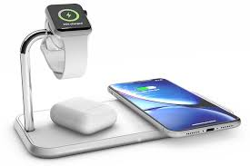 Беспроводное <b>зарядное устройство Zens Dual</b>+Watch Aluminium ...