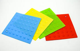 <b>Silicone</b> Flexible Non-Slip Pot Holder, <b>Heat Resistant Pad</b> ...