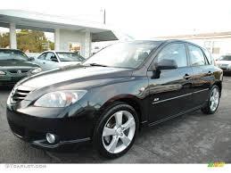 Black Mazda 3 2004 Black Mica Mazda Mazda3 S Hatchback 21238489 Gtcarlotcom