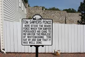 tom sawyer s fence scratching the surface tom sawyer s fence