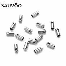 <b>200pcs</b>/<b>lot</b> Gold/Silver Color <b>Ball</b> Chain Connector Clasps 1.5mm ...
