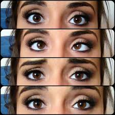 cute dark smokey makeup for brown eyes