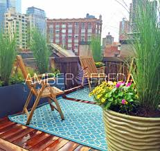 Small Picture Custom NYC Roof Deck Amber Freda Landscape Design