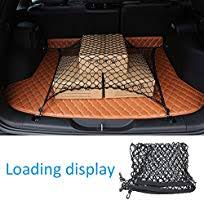 MICTUNING Car <b>Boot Cargo Net</b> with 4 Hooks for SUV Truck Bed ...