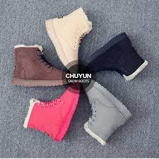 <b>Winter boots women</b> shoes female <b>warm</b> fur plush insole suede ...