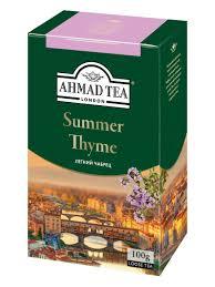 <b>Summer</b> Thyme, черный <b>чай</b>, листовой 100 г <b>Ahmad Tea</b> 9376881 ...