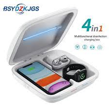 <b>4 in 1 Multifunctional</b> UV Sterilizer Box Lamp <b>Mobile Phone</b> USB ...