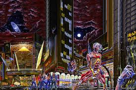 That Time <b>Iron Maiden</b> Got Futuristic With '<b>Somewhere</b> in Time'