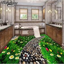 beibehang Large <b>Custom Flooring Painting 3d</b> Need for Floral ...