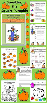 best images about halloween language arts ideas pumpkin activities spookley the square pumpkin book activities bundle