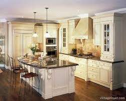kitchen moldings:  classic kitchens with traditional and antique cabinets vintage foyer