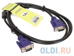 Кабель соединительный SVGA (15M/<b>M</b>) 1,8m 2 фильтра <b>TV-COM</b> ...