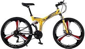 Amazon.co.jp: <b>Folding Mountain Bike</b> Double Damping 3 Knife ...