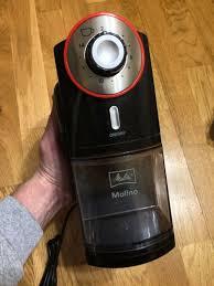 Обзор от покупателя на <b>Кофемолка Melitta Molino</b> черно-красная ...